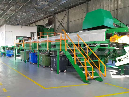 Automatic Waste Segregation Plant in Uzbekistan