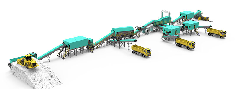 Solid Waste Treatment Plant Design