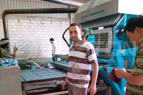 Egg Crate Making Machine